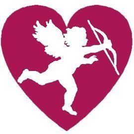 Grille point de croix coeur cupidon st valentin bicolore loisirs creatifs 857715964 ml