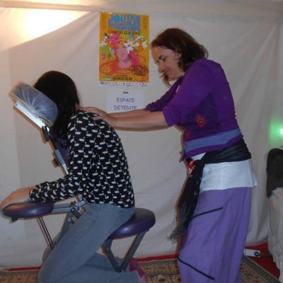 Massage assis antistress